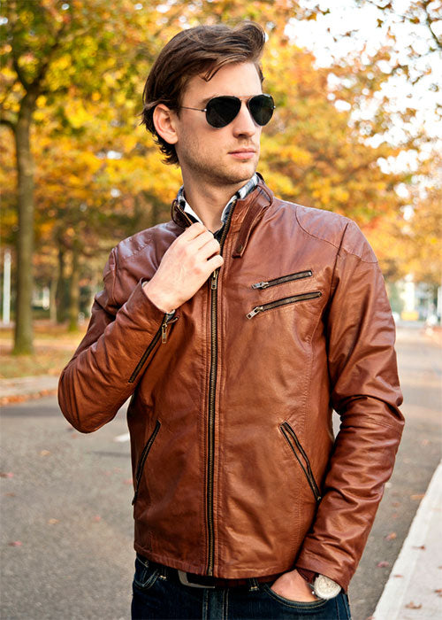 How Fitted Should A Leather Jacket Be?
