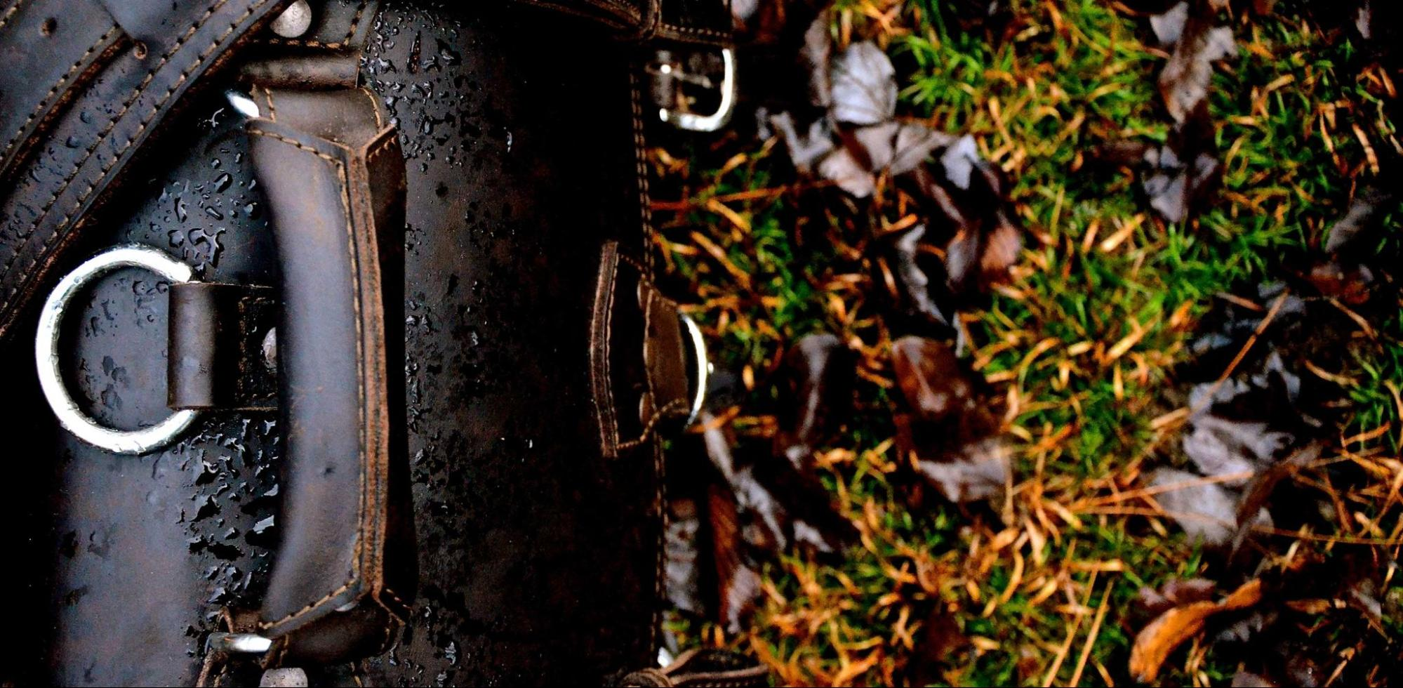 How To Deal With Rain-damaged Leather?