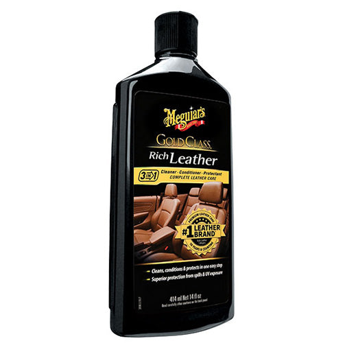 Meguiar's Gold Class Rich Leather Conditioner and Cleaner