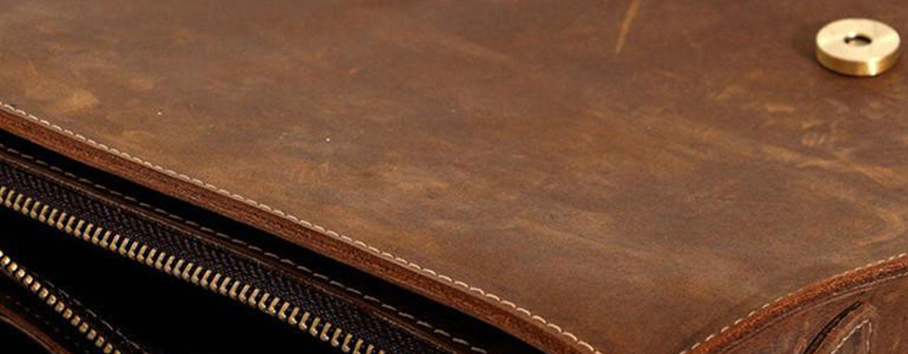 Top Grain And Full Grain Leather Is The Most Water Resistant