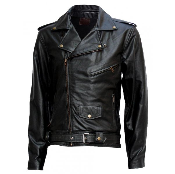 Nappa Leather Jacket For Men