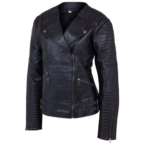 Nappa Leather Jacket For Women
