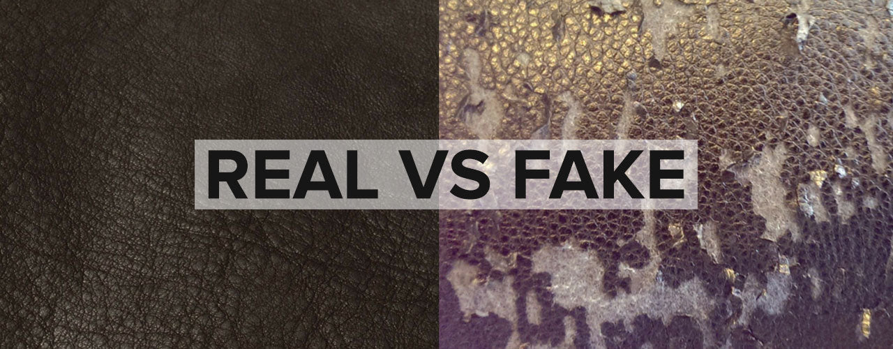 You Know The Difference Between Real Leather And Fake Leather