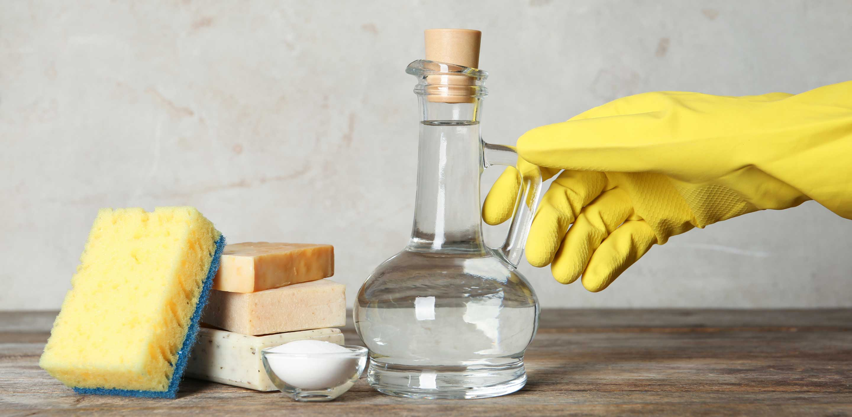 Remove Moulds With Vinegar