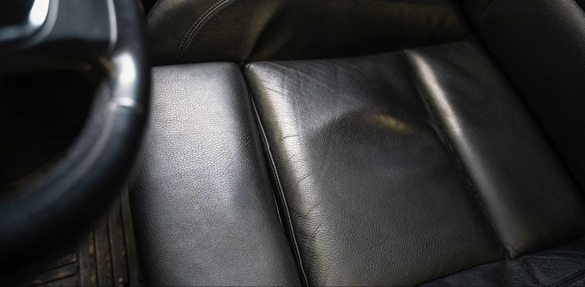 Remove Stretch Marks from Leather Car Seat