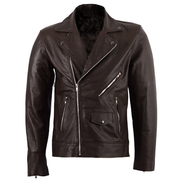 Double Rider Leather Summer Jacket