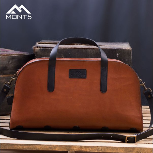 Vegetable Tanned Leather Duffel