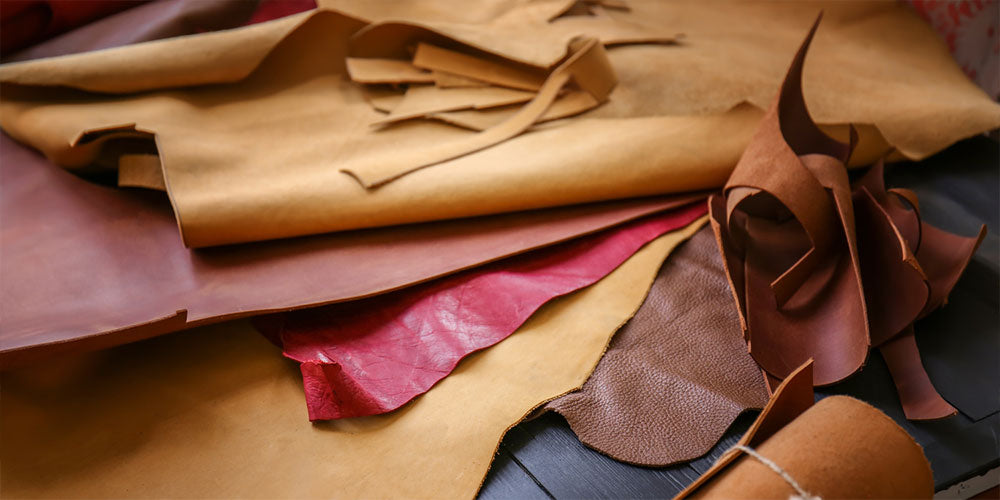 What is genuine leather made out of?