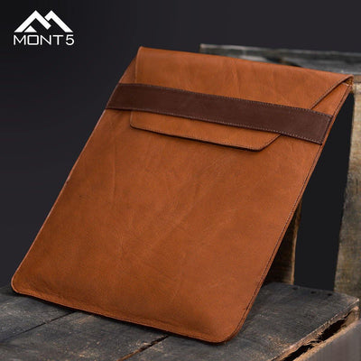 MONT5 Nagar Macbook Leather Sleeves - Leather Jacket Shop