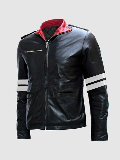 Alex Mercer Prototype Black Leather Jacket - Leather Jacket Shop