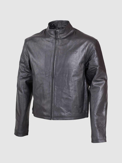 Exclusive Biker Cafe Racer Leather Jacket - Leather Jacket Shop