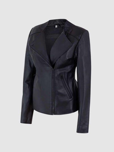 Female Biker Jacket - Leather Jacket Shop