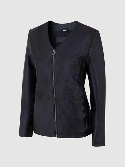 Female Leather Motorcycle Jacket - Leather Jacket Shop