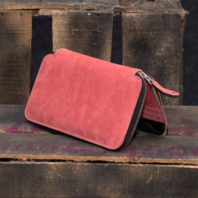 MONT5 Baltit Pink Wallet for Girls - Leather Jacket Shop