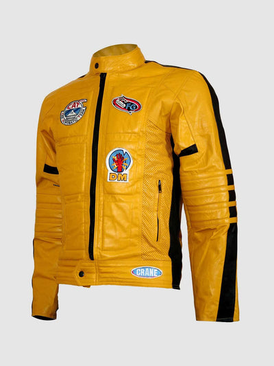 Kill Bill Motorcycle Leather Jacket for Men - Leather Jacket Shop