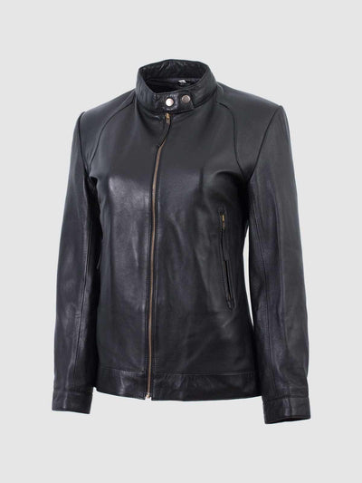 Leather Motorcycle Jacket for Women - Leather Jacket Shop