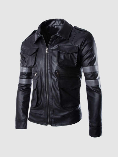 Leon Kennedy Resident Evil 6 Jacket - Leather Jacket Shop