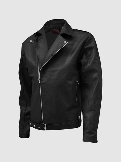 Men Traditional Leather Biker Jacket - Leather Jacket Shop