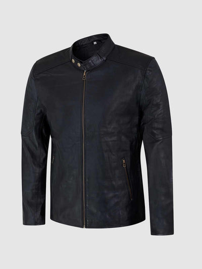 Sheep Leather Jacket For Men - Leather Jacket Shop