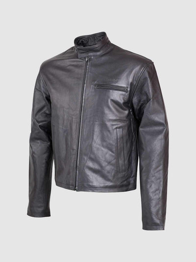 Unique Elegant Leather Jacket - Leather Jacket Shop