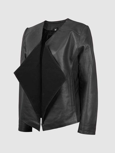 Unique Leather Cascade Jacket - Leather Jacket Shop