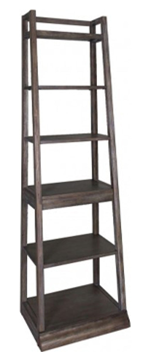 Liberty Stone Brook Leaning Bookcase in Rustic Saddle 466-HO201 image