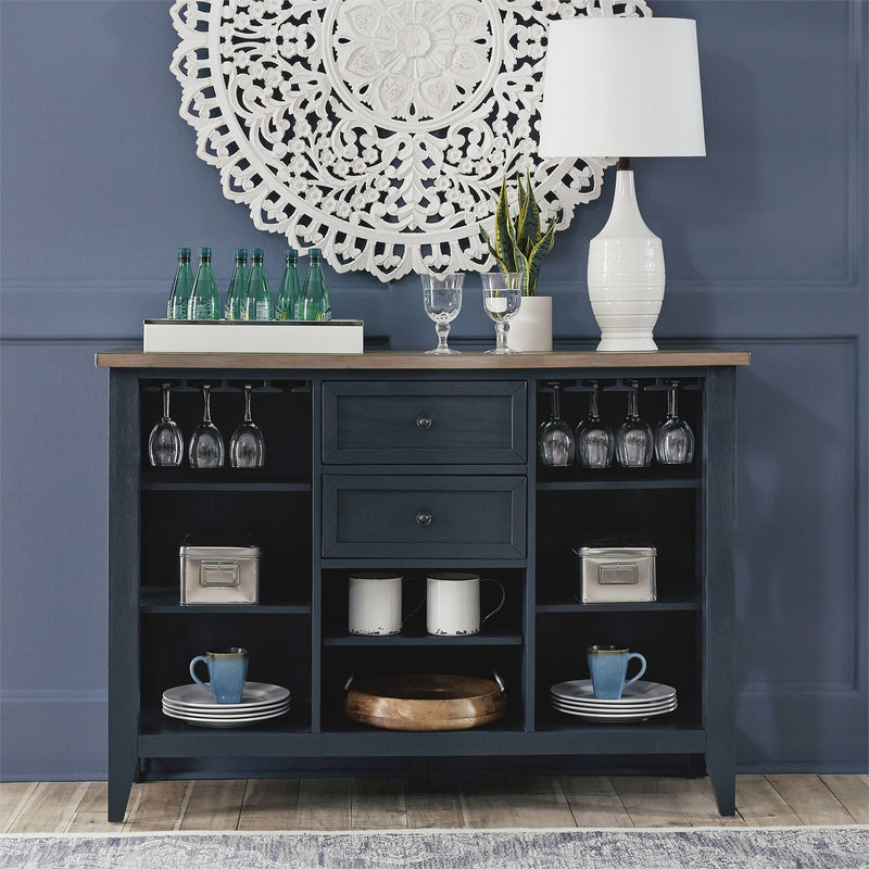 Liberty Furniture Lakeshore Server in Navy 519NY-SR5640 image