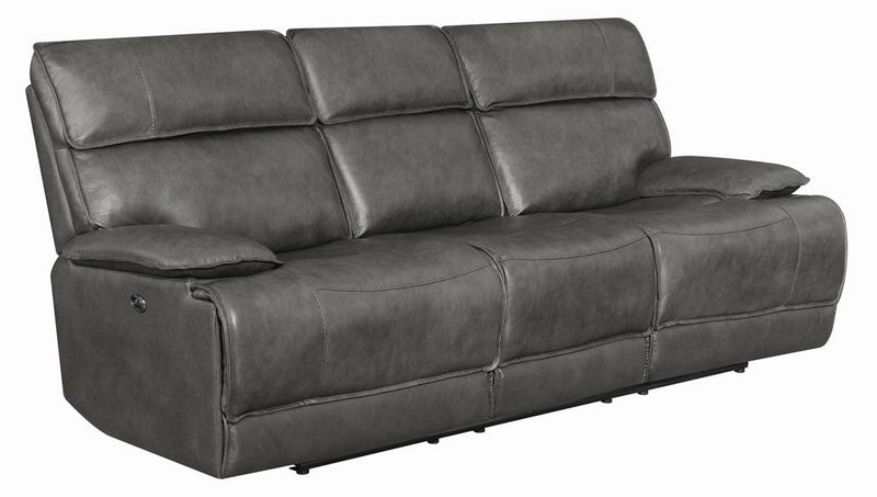 Standford Casual Charcoal Power Sofa image