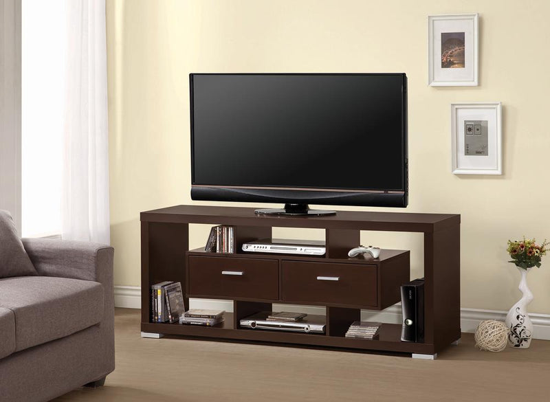 G700112 Transitional Cappuccino TV Console image