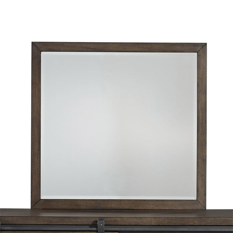 Liberty Furniture Thornwood Hills Mirror in Rock Beaten Gray 759-BR50 image