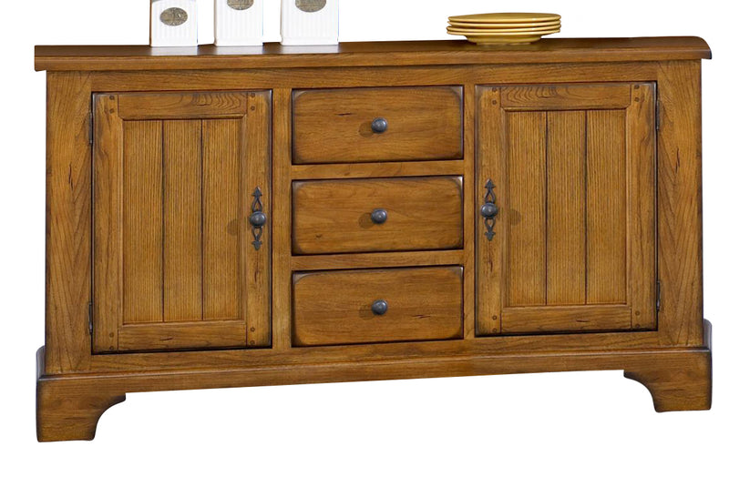 Liberty Furniture Treasures Buffet in Rustic Oak Finish 17-CB6285 image