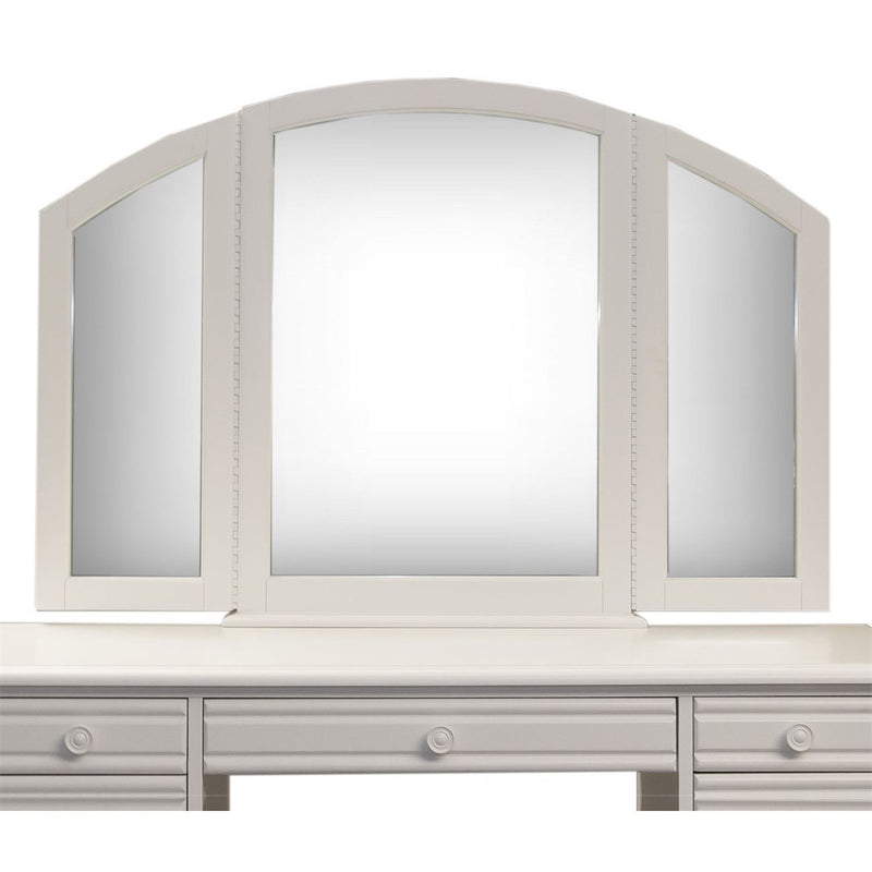 Liberty Furniture Summer House I Vanity Mirror in Oyster White 607-BR55 image