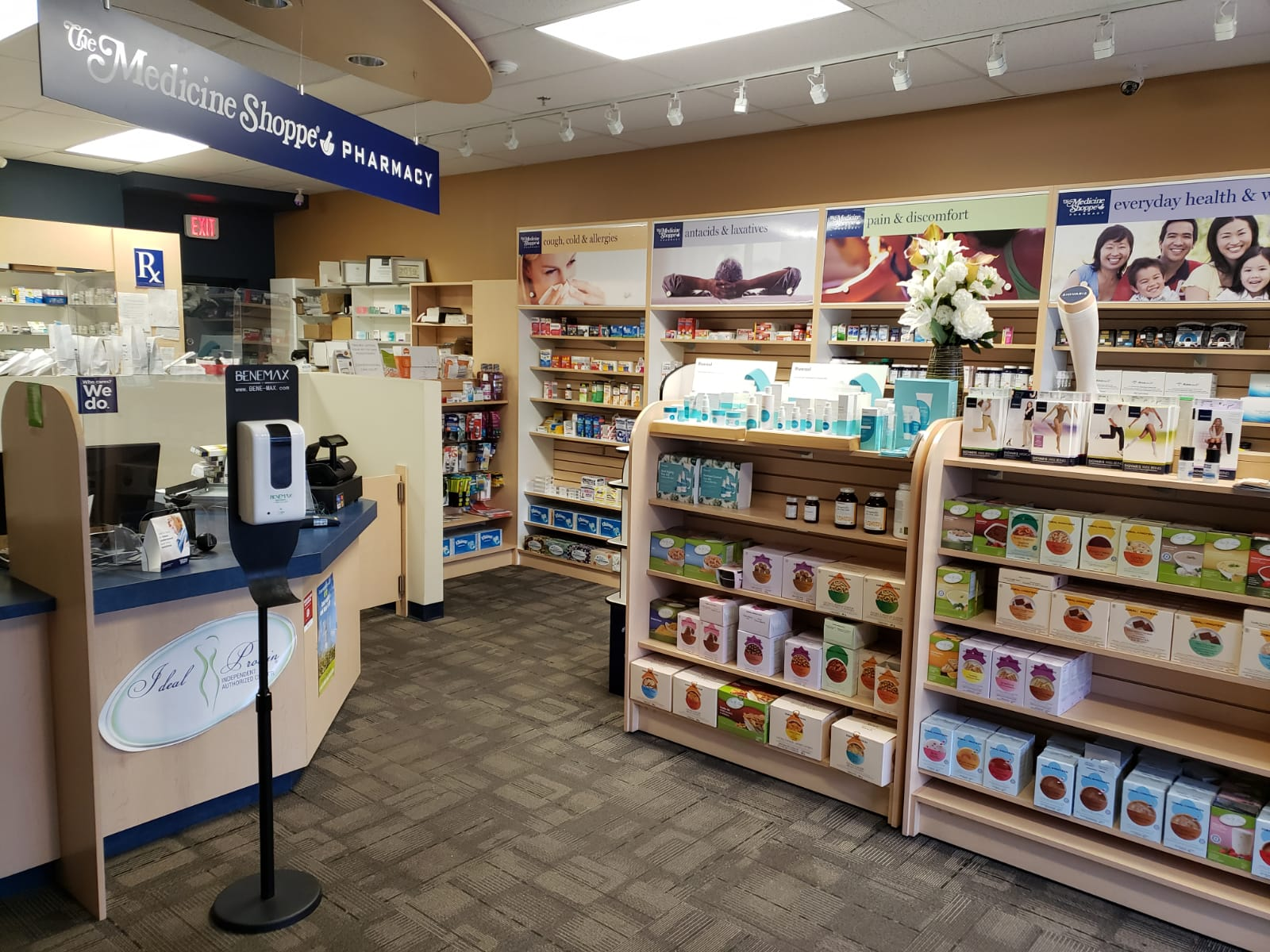 Medicine Shoppe Pharmacy, Lakeshore road, Kelowna is a patient focused compounding pharmacy. We offer quick prescription service in addition to compounding medications, blister packaging, professional supplements, and medication reviews. Get in touch.
