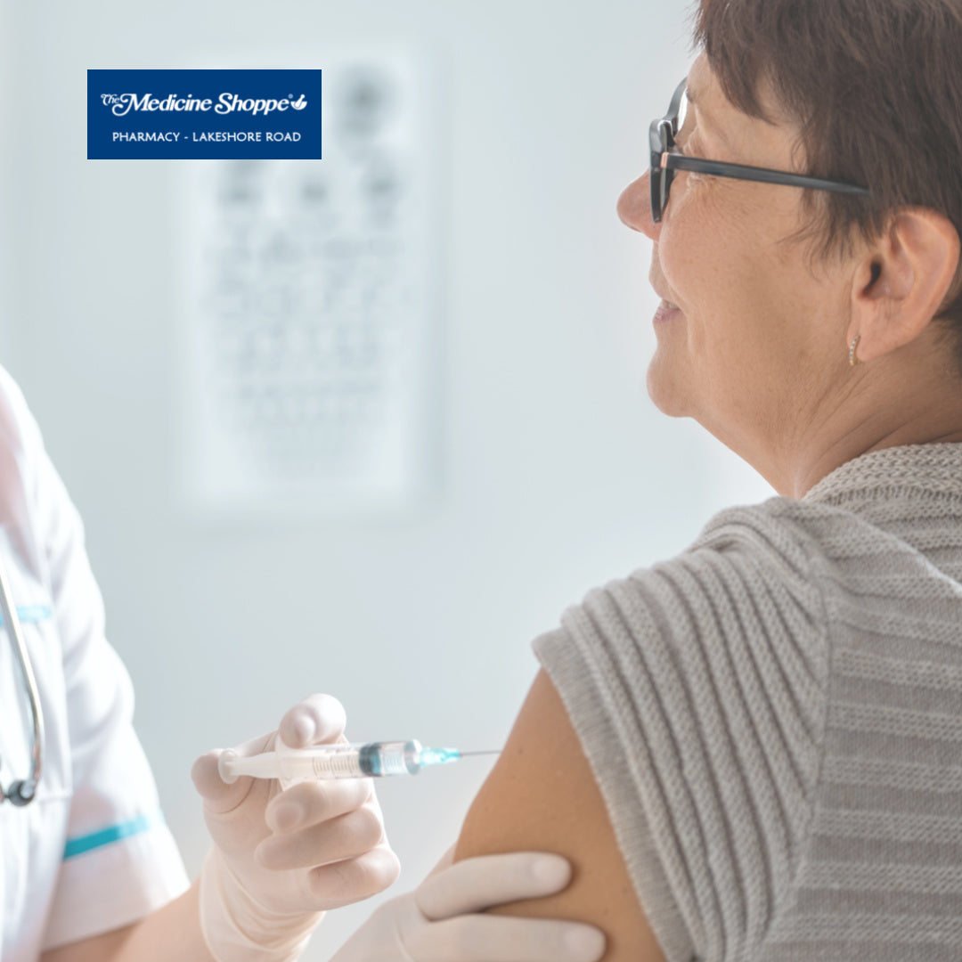 Vaccination services at the Medicine Shoppe Pharmacy, Lakeshore road, Kelowna. Get in touch and schedule your vacccinations with our pharmacist. Get more information on your vaccination schedule. Book your flu shot.