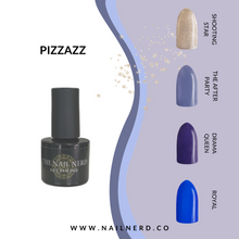 Load image into Gallery viewer, The Nail Nerd Gel Polish - PIZZAZZ COLLECTION