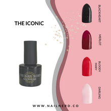 Load image into Gallery viewer, The Nail Nerd Gel Polish - THE ICONIC COLLECTION