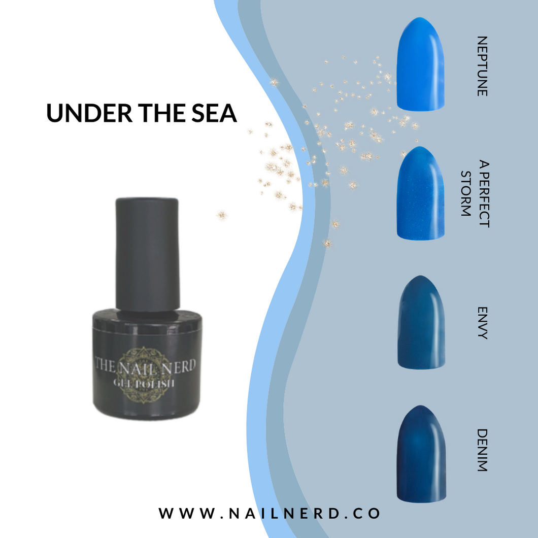 The Nail Nerd Gel Polish -UNDER THE SEA