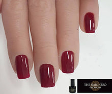 Load image into Gallery viewer, The Nail Nerd Gel Polish – MERLOT