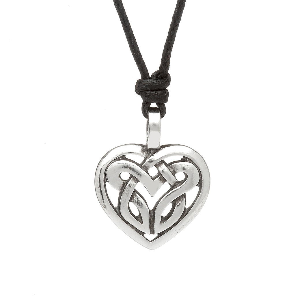 CELTIC LEGEND HEART CHOKER