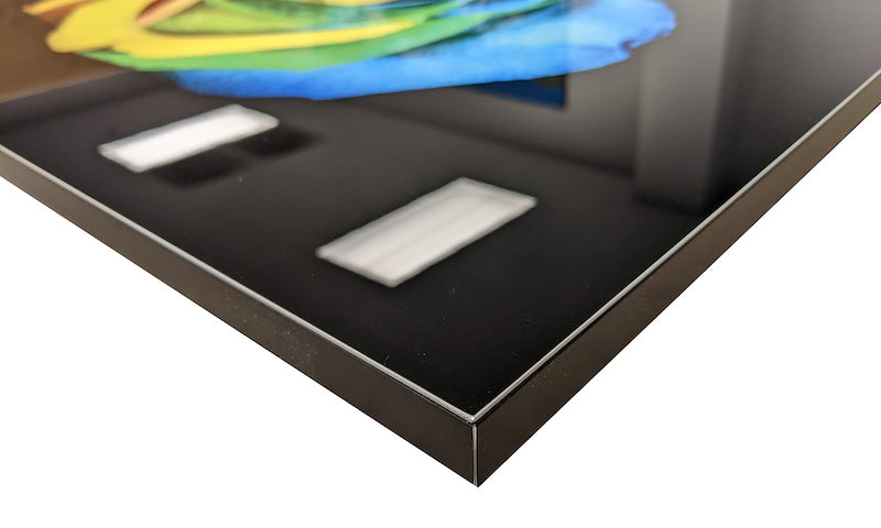 Example of a frame to edge frame on a large metal print