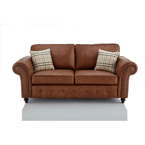 Oakland Faux Leather 3 Seater Sofa | 3 Seater Sofa | Sestra Living
