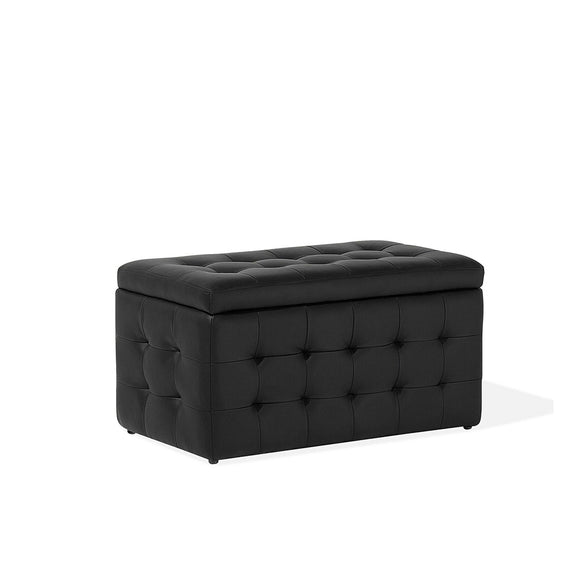 Michigan Faux Leather Ottoman