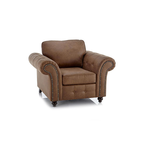 Oakland Faux Leather Armchair | Armchair | Sestra Living