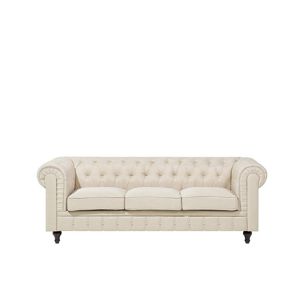 Chesterfield Fabric 3 Seater Sofa | 3 Seater Sofa | Sestra Living