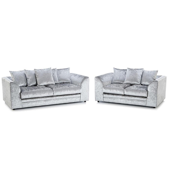 Chicago Crushed Velvet Sofa Suite | Sofa Suite (3+2) | Sestra Living
