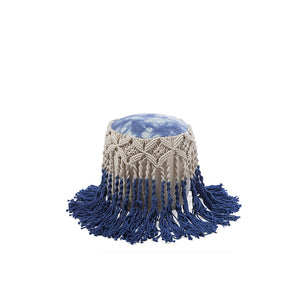 Patiala Cotton Pouffe