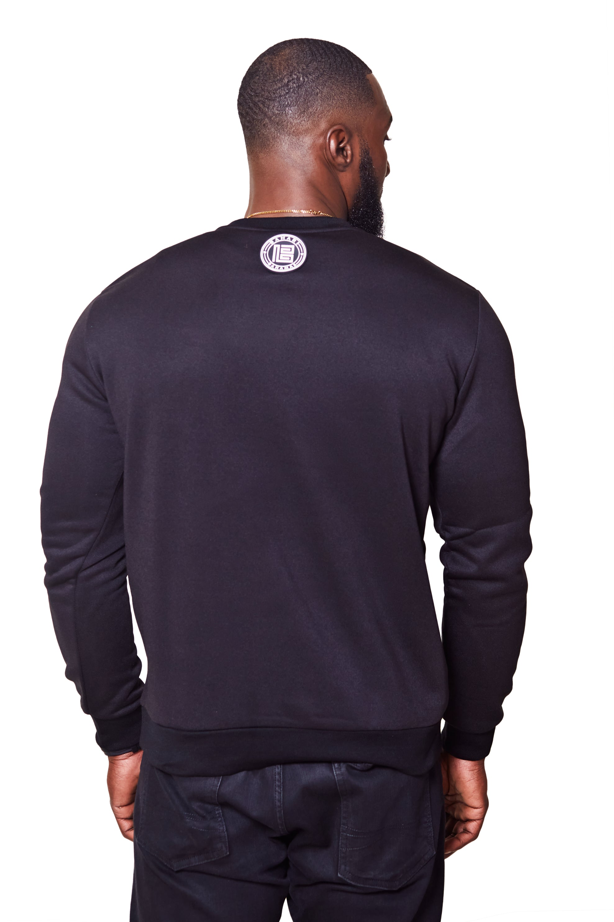 THE POLLATTO PULLOVER- BLACK