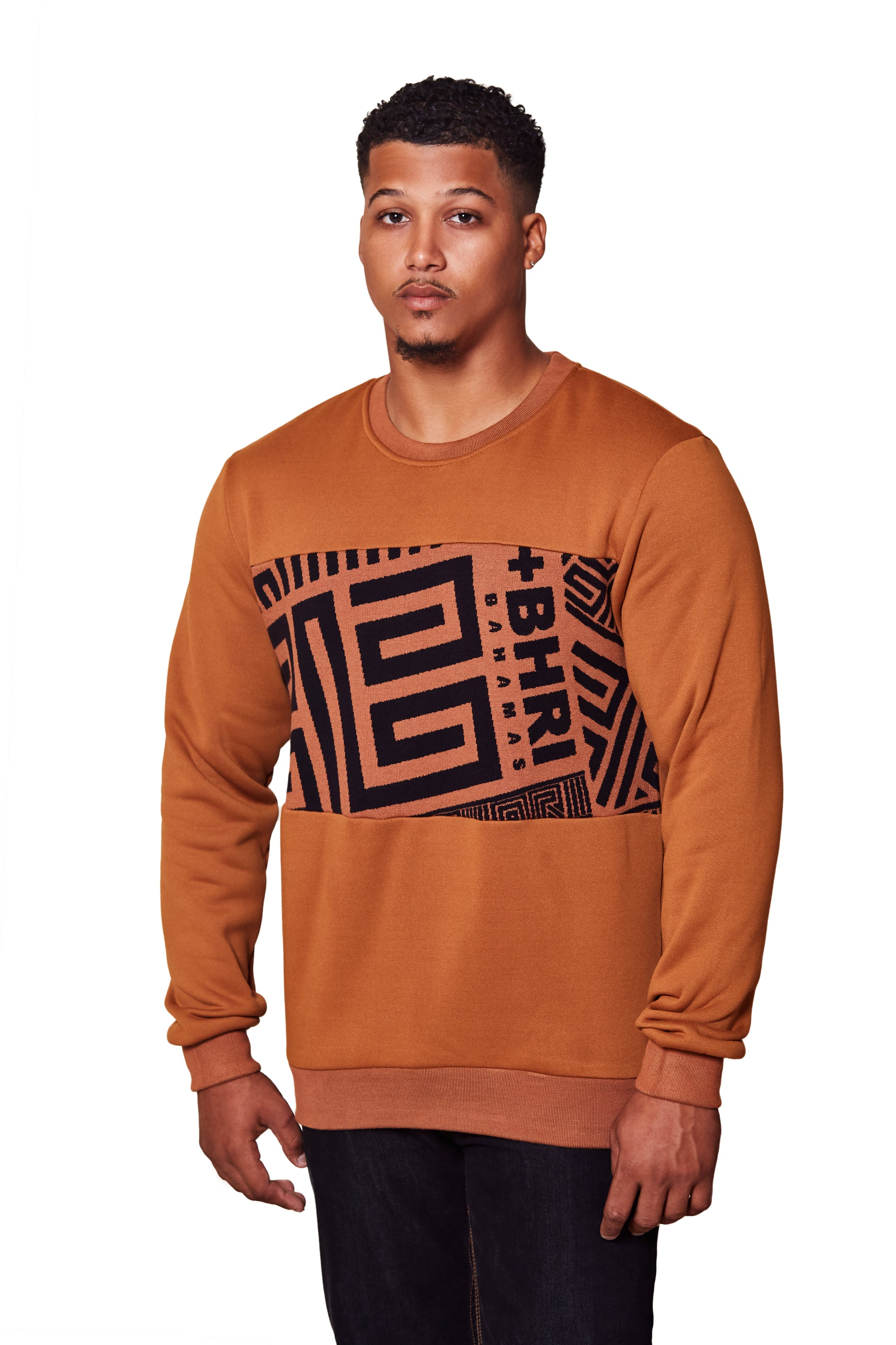 THE POLLATTO PULLOVER- CHESTNUT