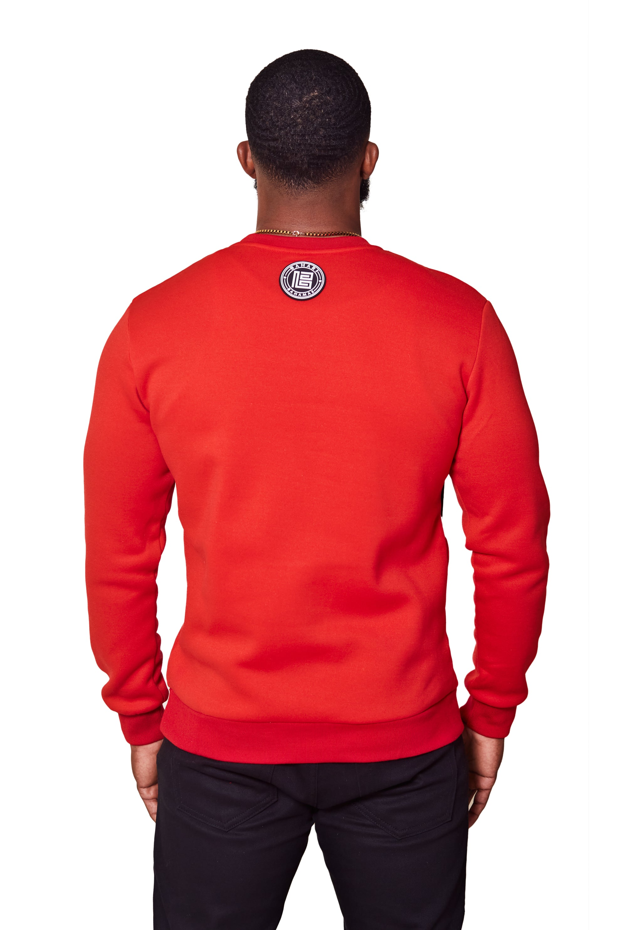 THE POLLATTO PULLOVER- RED