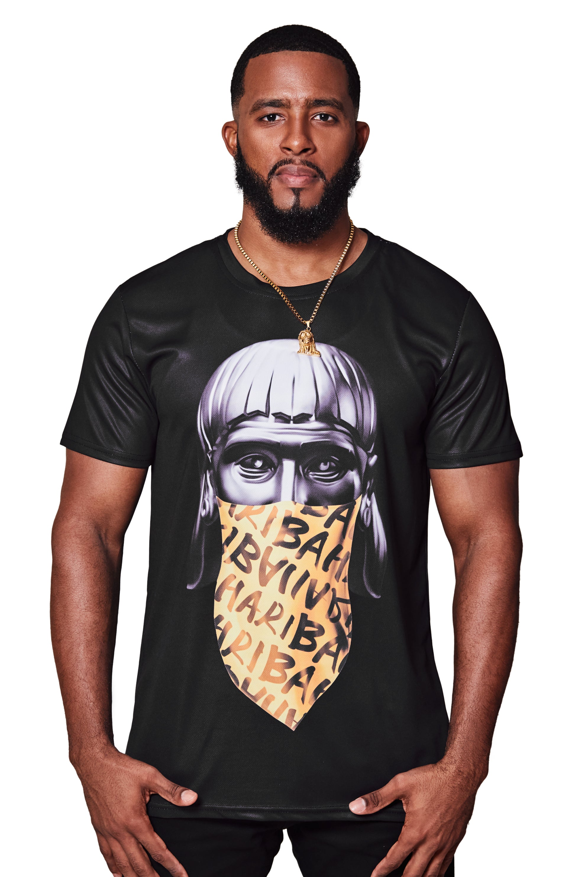 THE DON LUCAYOS TEE-BLACK